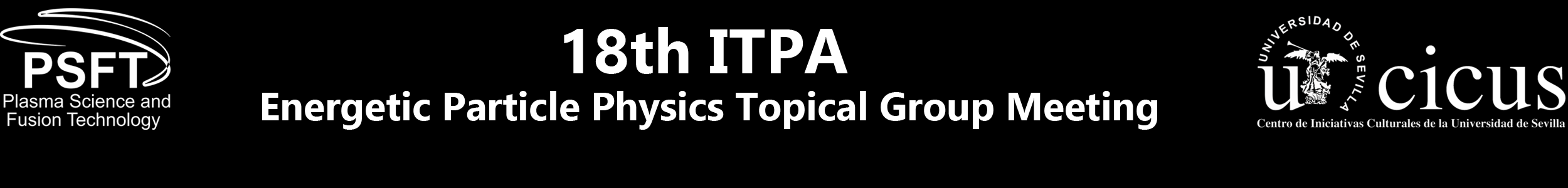 18th ITPA Energetic Particle Physics Topical Group Meeting